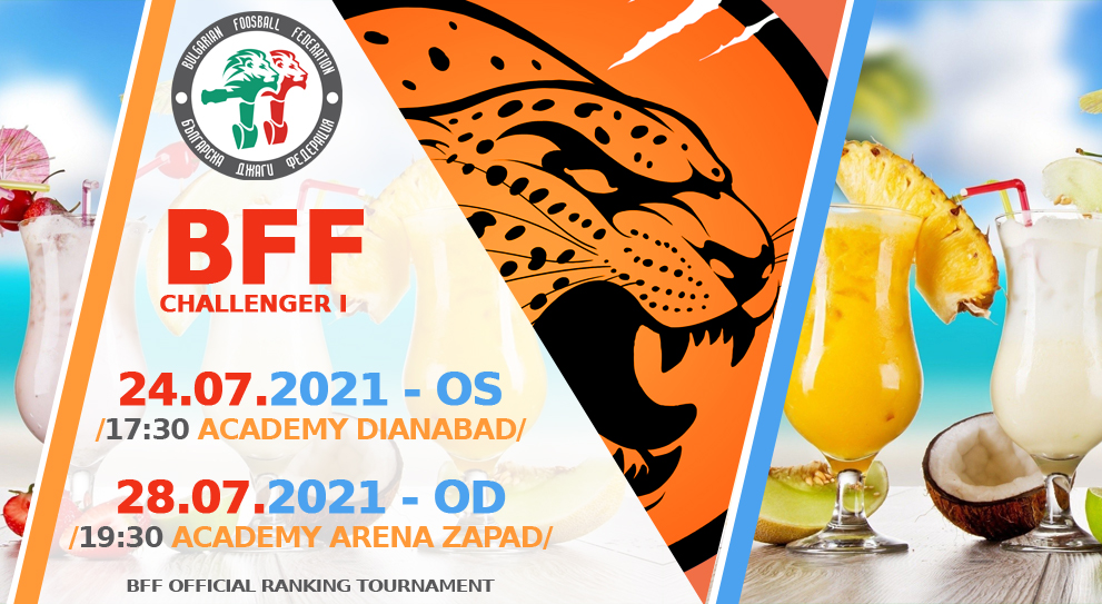 BFF Challenger OS and OD I -24 & 28 July 2021 Foosball