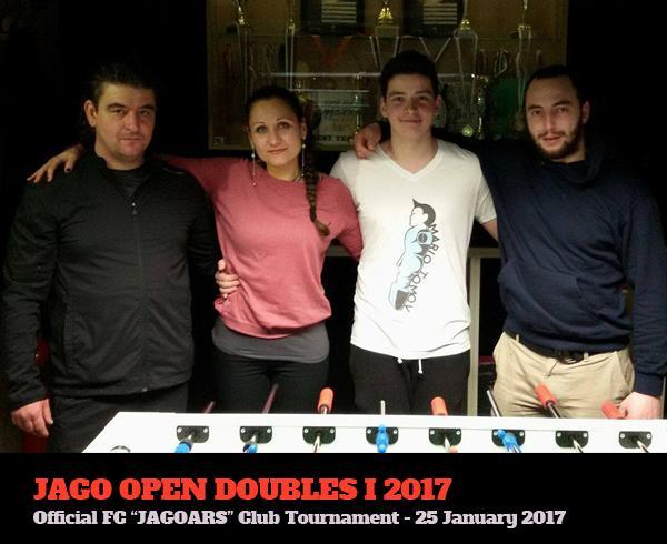 Вътрешноклубен турнир по двойки джаги 2017
