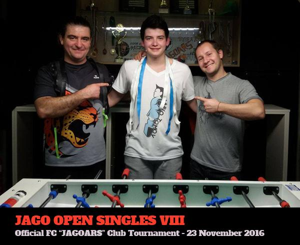 Вътрешноклубен турнир по джаги 2016 - 8 - единици