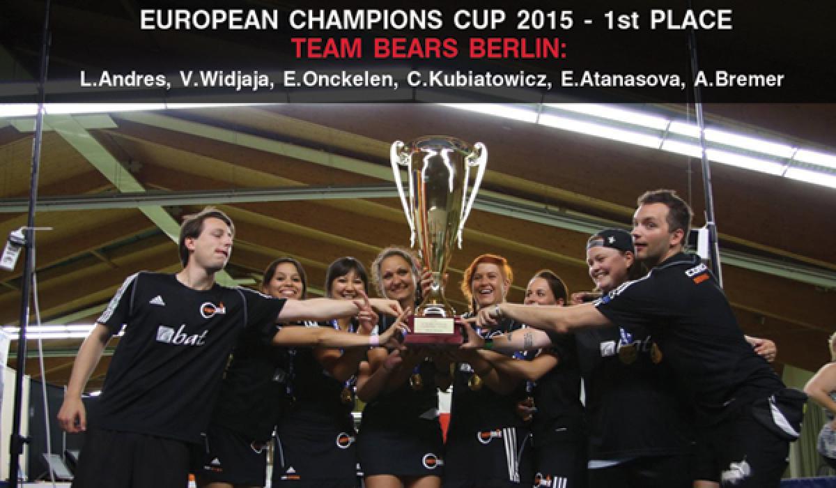 Европейската Купа е за Мачките Берлин - първо място за отбора на Екатерина Атанасова