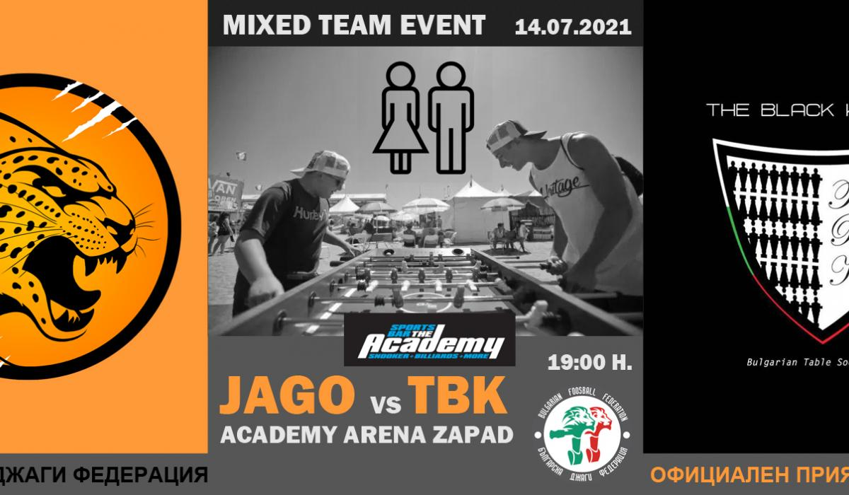 Mixed Team Event 2021 - Jago vs TBK