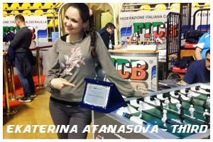екатерина атанасова - трета в световната ранглиста по джаги за 2015