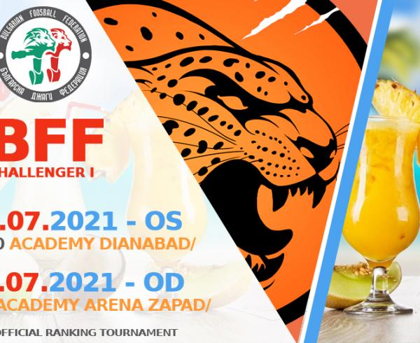 BFF Challenger OS and OD I -24 & 28 July 2021- foosball