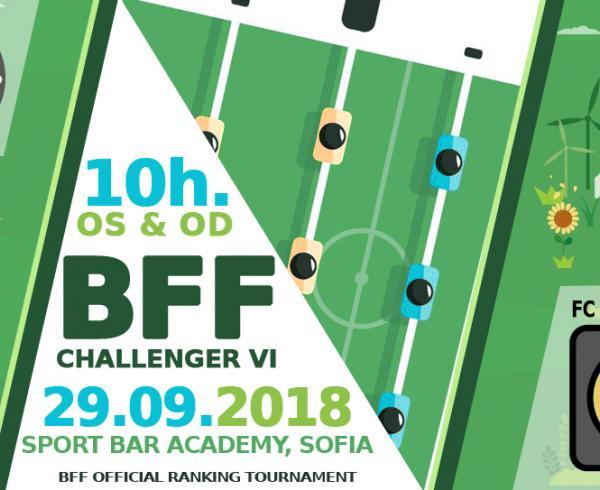 BFF Challenger VI турнир по джаги 2018
