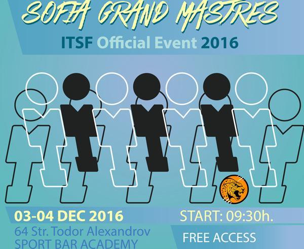 Sofia Grand Masters IX 2016