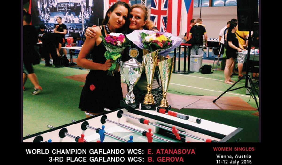 Екатерина Атанасова е Световен шампион по джаги на Гарландо за 2015