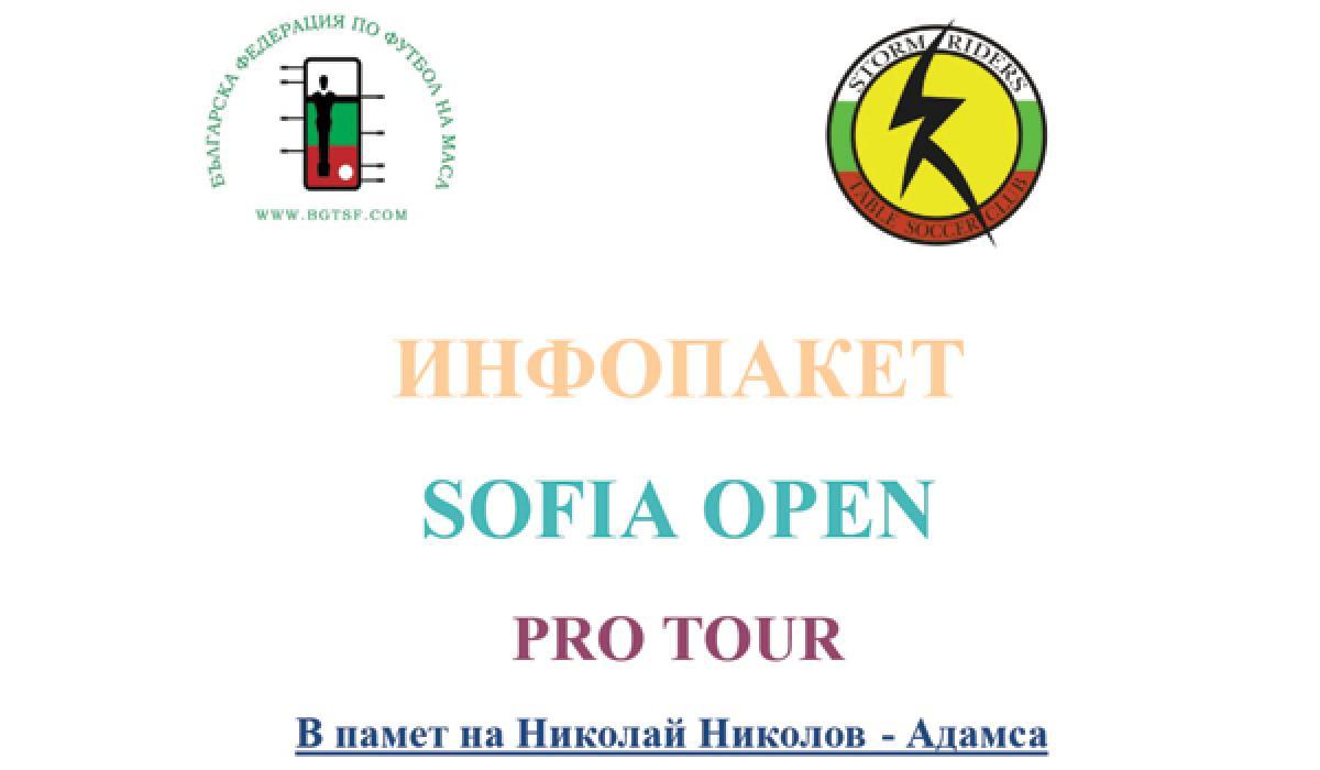 Sofia Open Pro Tour 2015