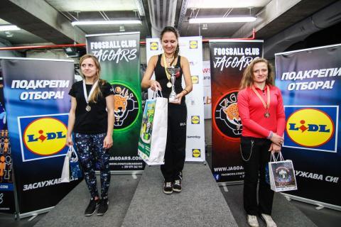ekaterina atanasova - world champion foosball . table soccer 2015