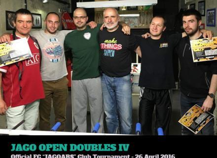 Вътрешноклубен турнир по джаги - април 2016
